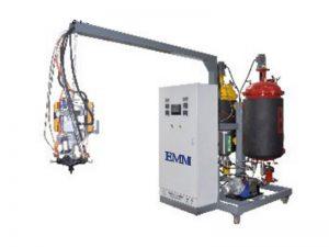 áp lực thấp linh hoạt di động pu đúc polyurethane bộ nhớ gối cách nhiệt phun làm bọt máy phun giá