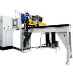 Three dimensional polyurethane seal molding machine